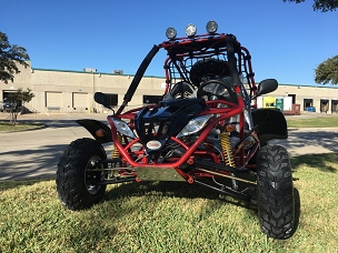 New DF Monster 200 2x4 169cc Go Kart *Shipping Not Included