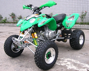 **New Adly / Her Chee 2x4 300 Sport (Raptor) 4 Speed Manual Air Cooled ATV - Close-Out - *Fully Assembled w/Free Home Delivery