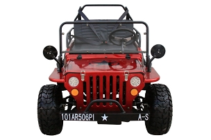Coolster Jeep Style GK6125A 125 Semi-Auto