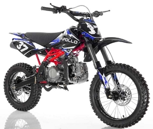 New 2020 Apollo AGB 37 CRF-2 125 *Big Tire Dirt Bike - Shipping Not Included