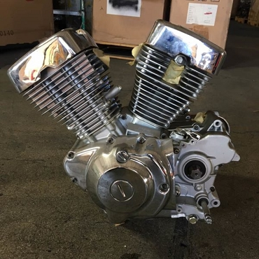NEW!! LIFAN 250 V TWIN Air Cooled Motorcycle Engine - Free Shipping