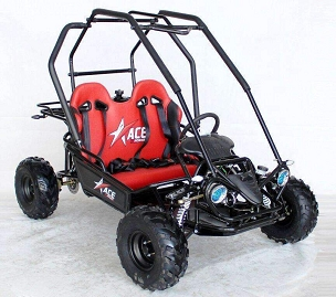 New 2020 Ace 125 Youth Size Go Kart w/Reverse Gear - *Shipping Not Included