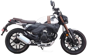 2021 American LIFAN KPM 200 Cafe Racer EFI Motorcycle - *Free Commercial Delivery to TRENTON, NJ. AREA ONLY!