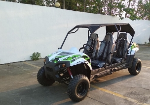 New Tralimaster 150 4 Seat Sport Style Adult Size UTV - Introductory Price - Limited Qty. - *Shipping Included  to Commercial Location With Dock Only.