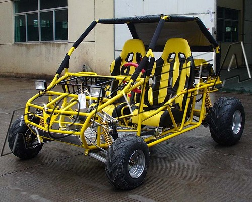 New 2008 Old Stock GK-13 250 Water Cooled Buggy (In the Crate) - Free Commercial Shipping - Yellow Color Only