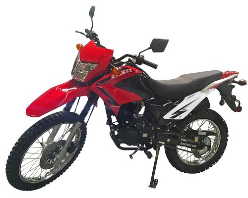 SPECIAL SALE !! New Bashan Enforcer 41H 250 (229cc) Air Cooled Enduro Motorcycle - Shipping Not Included - SOLD OUT