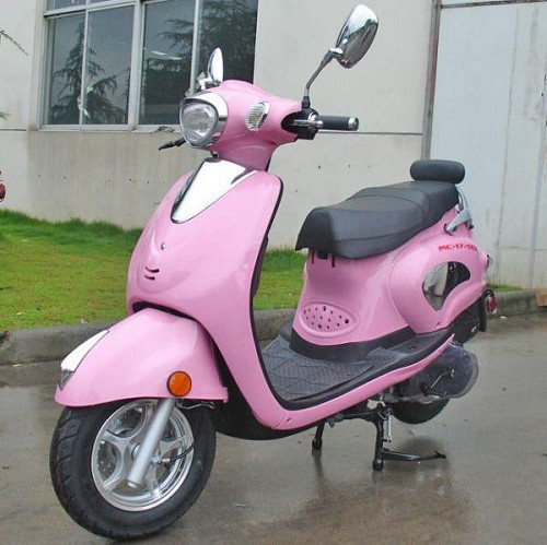 Close-Out - New Old Stock Sicily 150 Vespa Style Scooter - 98% Assembled (Rear View Mirrors & Battery needs installed) - Shipping Not Included